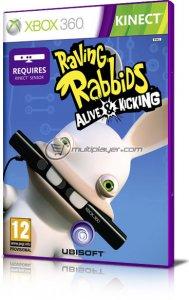 Rabbids: Fuori di Schermo per Xbox 360