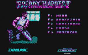 Freddy Hardest in South Manhattan per PC MS-DOS