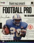 Front Page Sports: Football Pro '96 Season per PC MS-DOS
