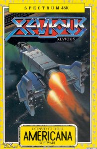 Xevious per Sinclair ZX Spectrum