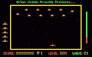 Galactic Battle per PC MS-DOS