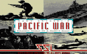 Gary Grigsby's Pacific War per PC MS-DOS