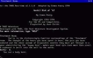 Gerbil Riot of '67 per PC MS-DOS