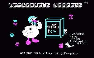Gertrude's Secrets per PC MS-DOS