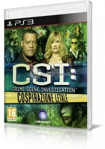 CSI: Cospirazione Letale per PlayStation 3