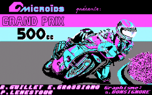 Grand Prix 500 per PC MS-DOS