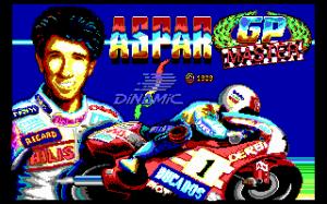 Grand Prix Master per PC MS-DOS