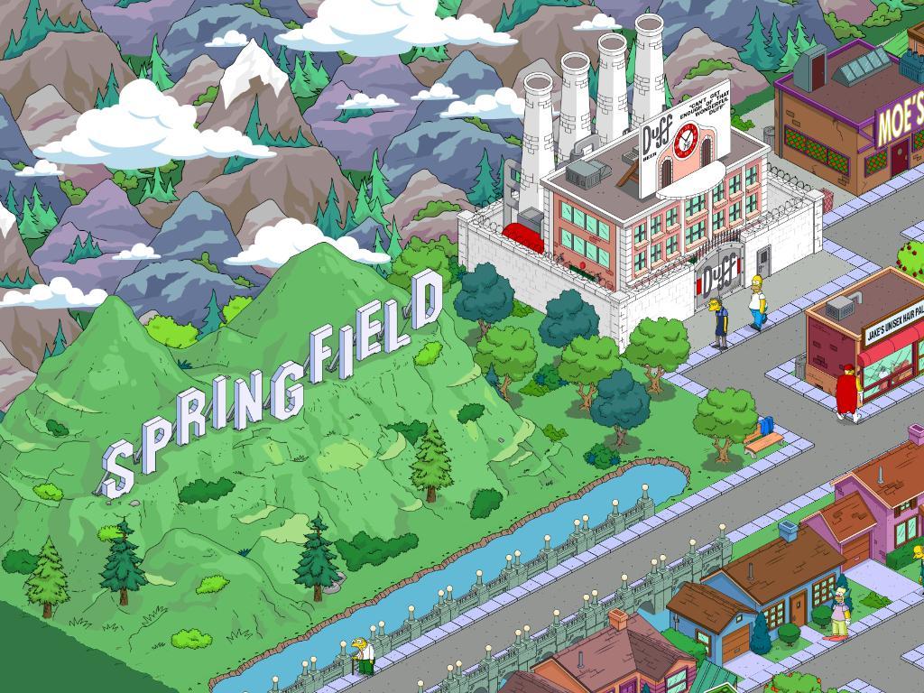 вашему картинки город симпсонов вашему желанию могут