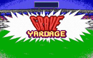 Grave Yardage per PC MS-DOS