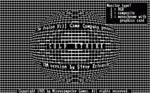 Gulf Strike per PC MS-DOS