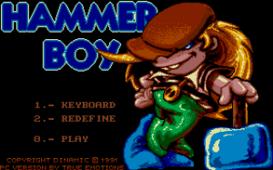 Hammer Boy per PC MS-DOS