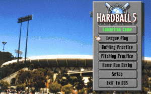 Hardball '95 per PC MS-DOS