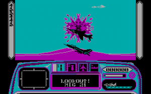 Harrier 7 per PC MS-DOS
