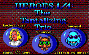 Heroes: The Tantalizing Trio per PC MS-DOS