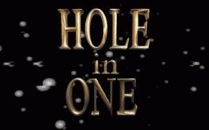 Hole in One per PC MS-DOS