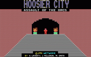 Hoosier City per PC MS-DOS
