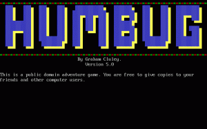 Humbug per PC MS-DOS