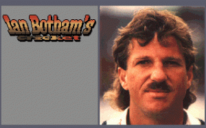 Ian Botham's Cricket per PC MS-DOS