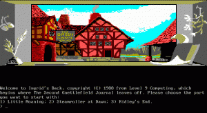 Ingrid's Back! per PC MS-DOS
