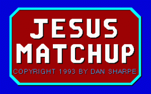Jesus Matchup per PC MS-DOS