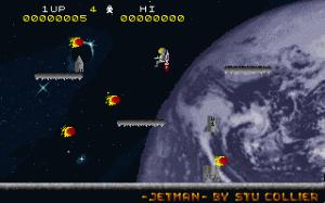 Jetman per PC MS-DOS