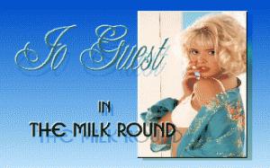 Jo Guest in the Milk Round per PC MS-DOS