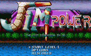 Jim Power in Mutant Planet per PC MS-DOS