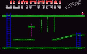 Jumpman Lives! per PC MS-DOS