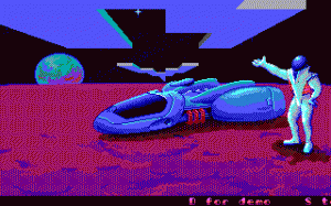 Kosmonaut per PC MS-DOS