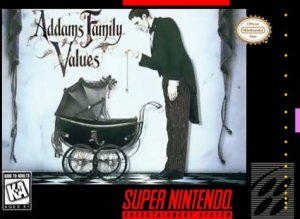 Addams Family Values per Super Nintendo Entertainment System