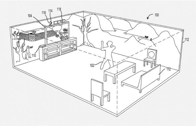 Xbox 720 ci immerge fisicamente nel mondo di gioco? Un brevetto sembra affermarlo