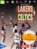 Lakers versus Celtics and the NBA Playoffs per PC MS-DOS