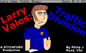 Larry Vales: Traffic Division per PC MS-DOS