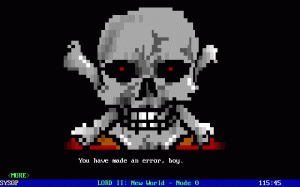 Legend of the Red Dragon II: New World per PC MS-DOS