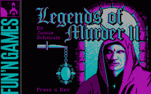 Legends of Murder II: Grey Haven per PC MS-DOS