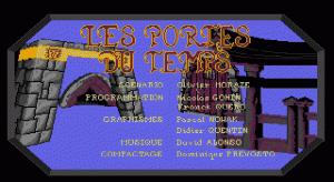 Les Portes du Temps per PC MS-DOS
