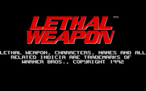 Lethal Weapon per PC MS-DOS