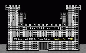 Leygref's Castle per PC MS-DOS