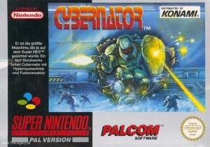 Cybernator per Super Nintendo Entertainment System
