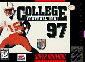 College Football USA '97 per Super Nintendo Entertainment System