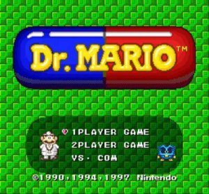 BS Dr. Mario per Super Nintendo Entertainment System