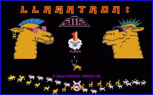 Llamatron: 2112 per PC MS-DOS