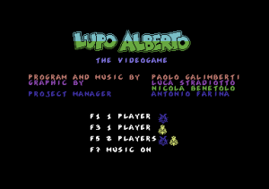 Lupo Alberto: The Videogame per PC MS-DOS