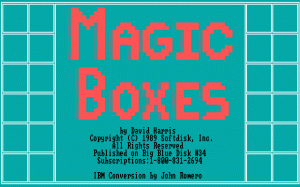 Magic Boxes per PC MS-DOS