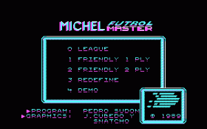 Michel Futbol Master + Super Skills per PC MS-DOS