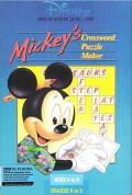 Mickey's Crossword Puzzle Maker per PC MS-DOS