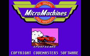 MicroMachines per PC MS-DOS