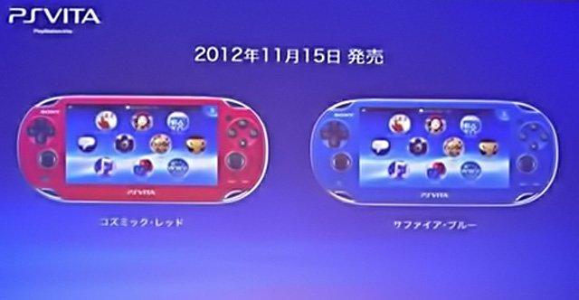 TGS 2012 - PS Vita: in arrivo le versioni Cosmic Red e Sapphire Blue