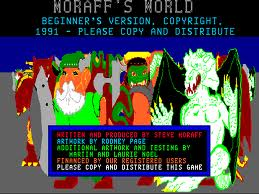 Moraff's World per PC MS-DOS