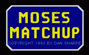 Moses Matchup per PC MS-DOS